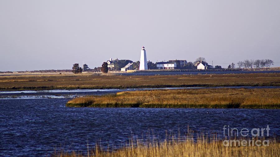 Lighthouse Photograph - Toward Saybrook by Joe Geraci
