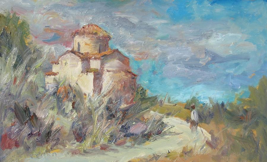 Towards Livadiotissa Painting
