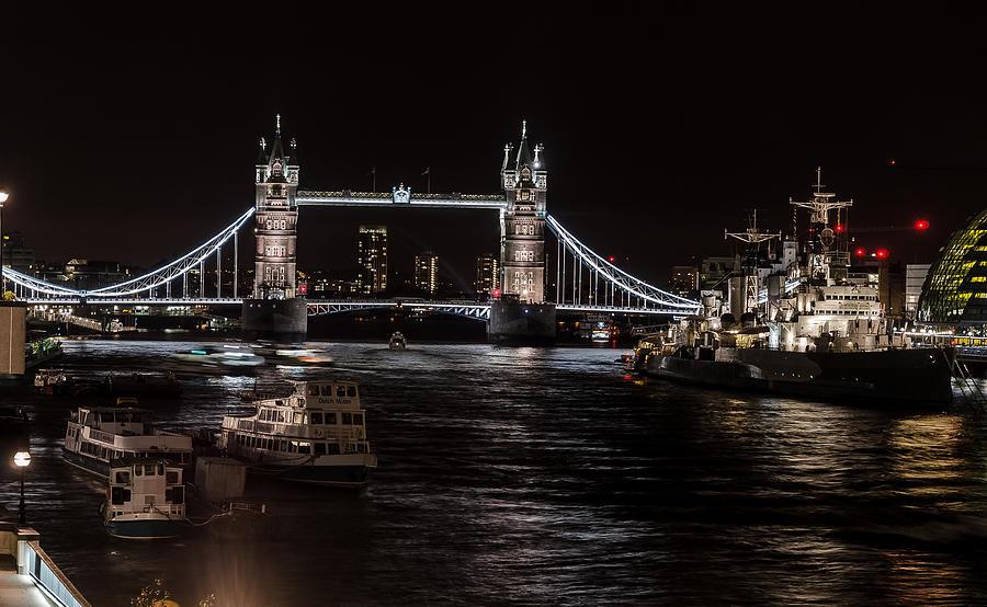 Tower Bridge London England Digital Art