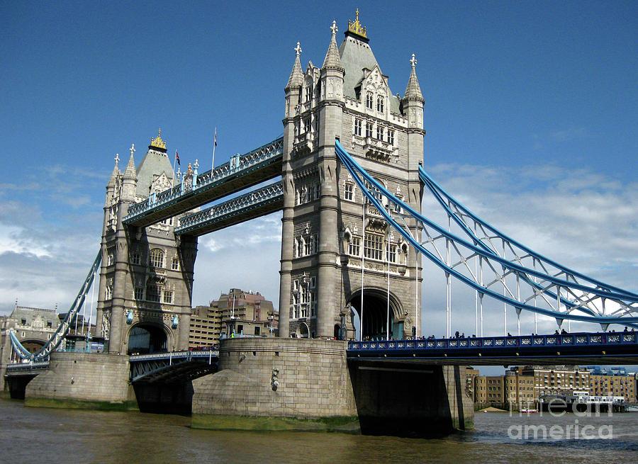 London Photograph - Tower Bridge London by Heidi Hermes