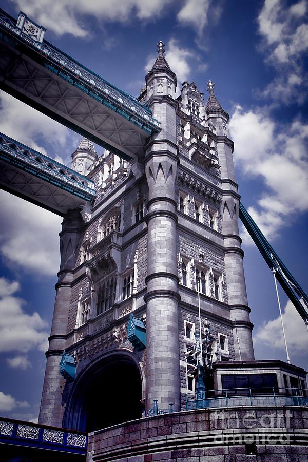 Tower Bridge London Photograph - Tower Bridge London by Mariola Bitner