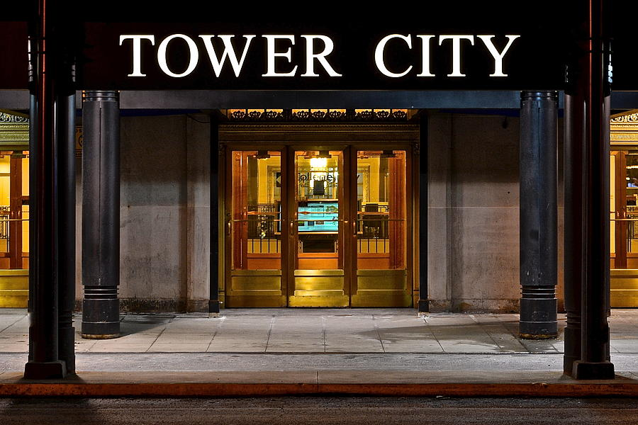 Tower City Cleveland Ohio Photograph