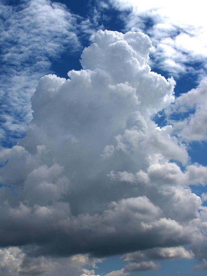 Towering Thunderhead Photograph