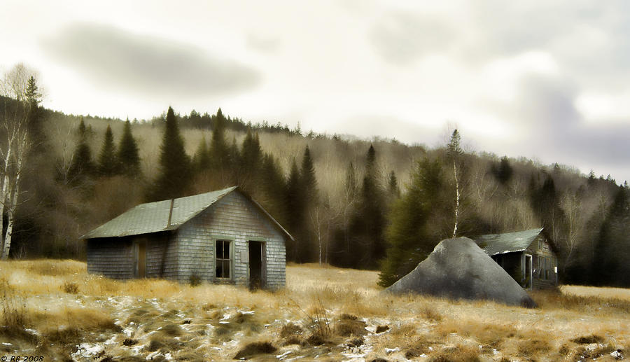 Country Photograph - Township Remnants by Richard Bean