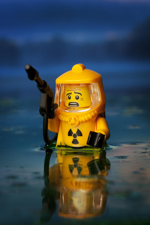 Lego Photograph - Toxic by Samuel Whitton
