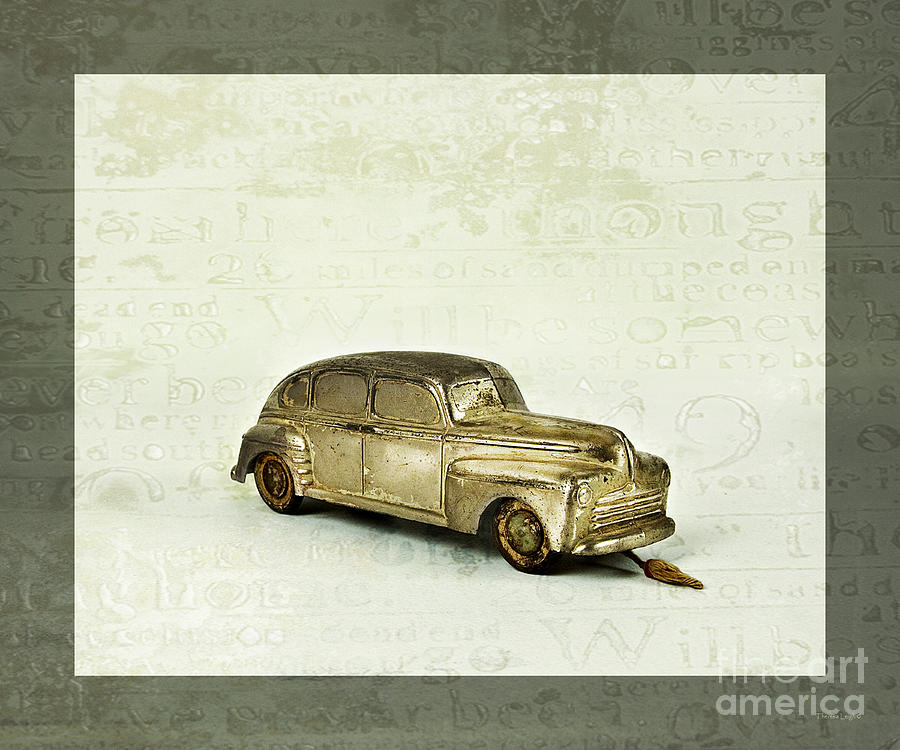 Toy Car Photograph  - Toy Car Fine Art Print