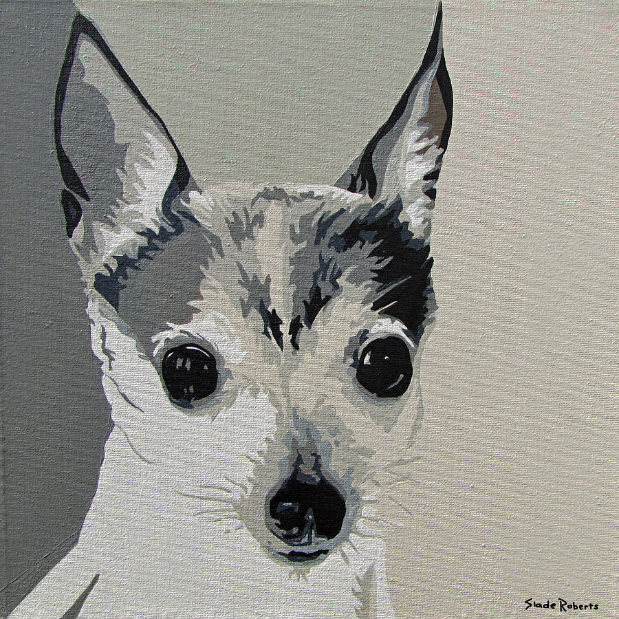 Toy Fox Terrier Painting