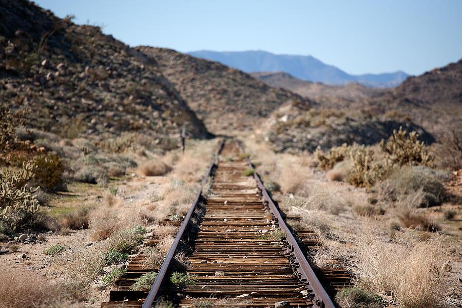 Tracks To Nowhere Photograph