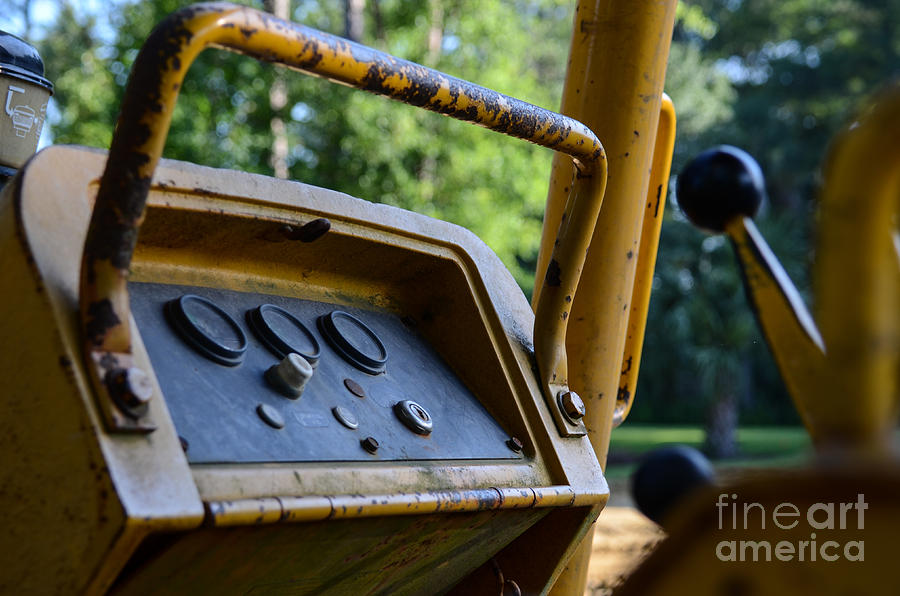 Tractor Controls Photograph