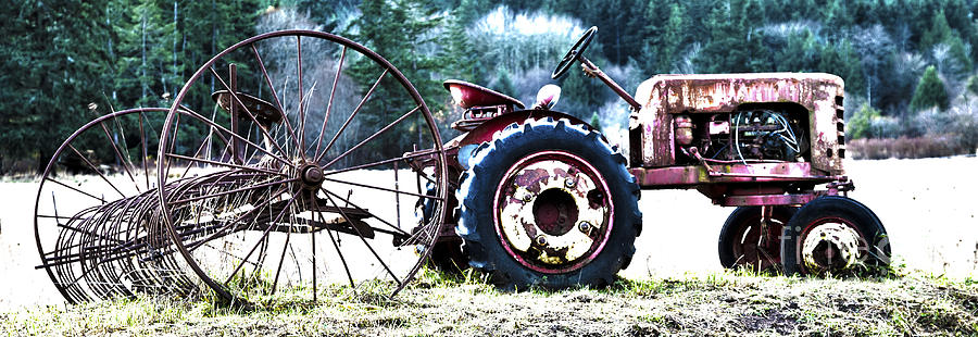 Tractor Hdr Photograph