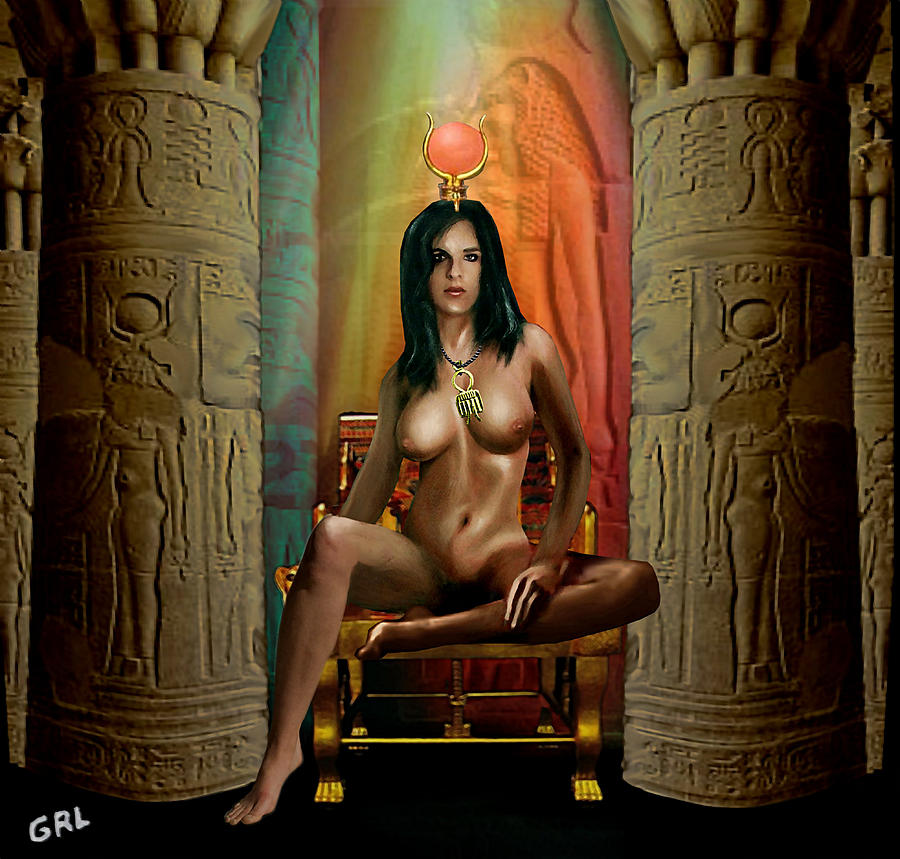 Naked Egyption 50