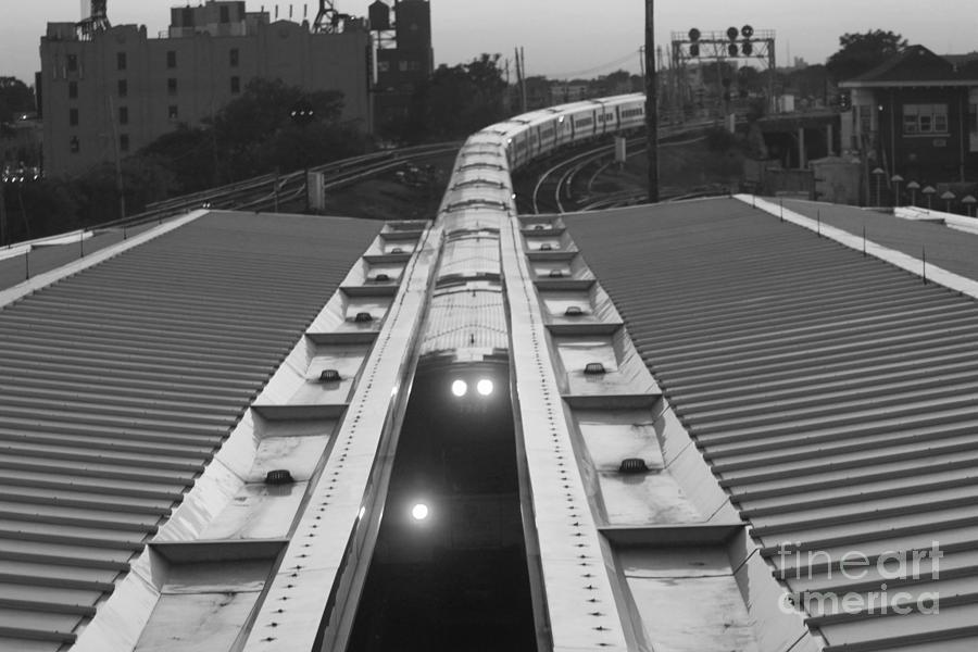 Train Keeps On Rollin Photograph - Train Keeps On Rollin by John Telfer