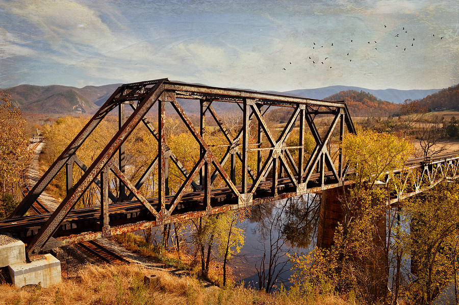 Train Trestle Photograph