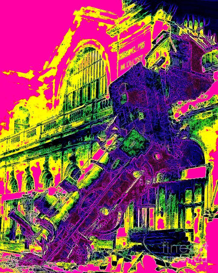 Train Wreck At Montparnasse Station 20130525 Photograph