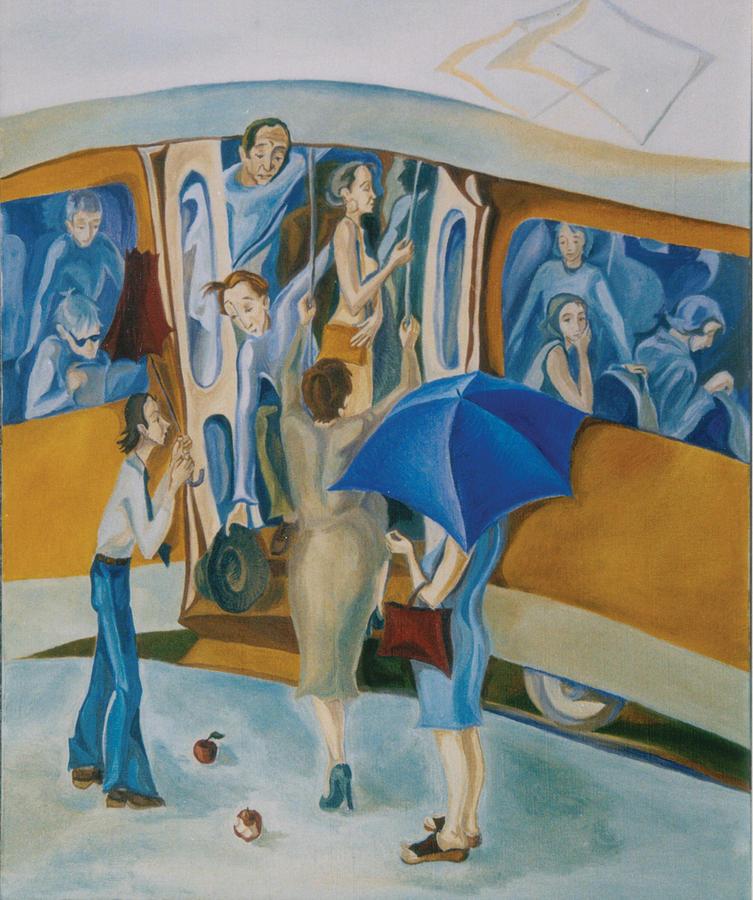 Tram No 6 Painting