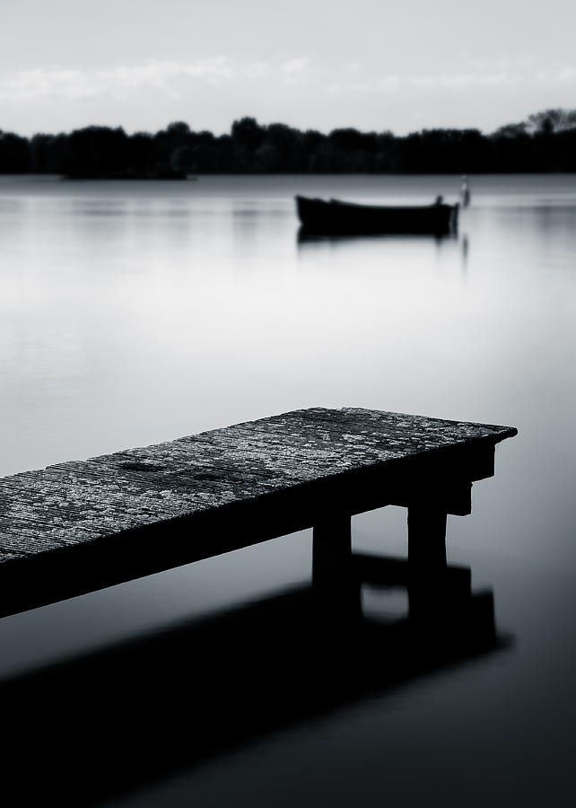 Sluipwijk Photograph - Tranquility by Dave Bowman