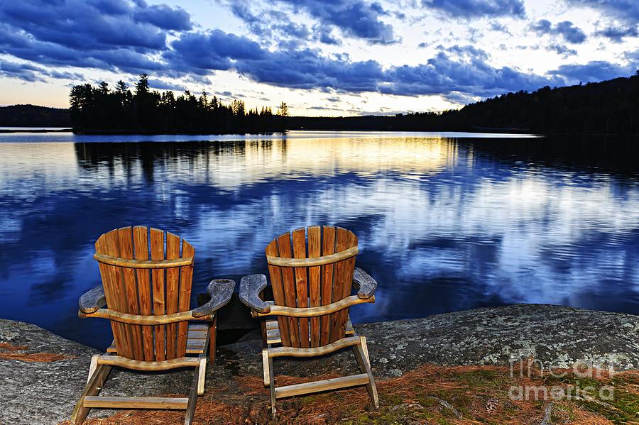 Lake Photograph - Tranquility by Elena Elisseeva