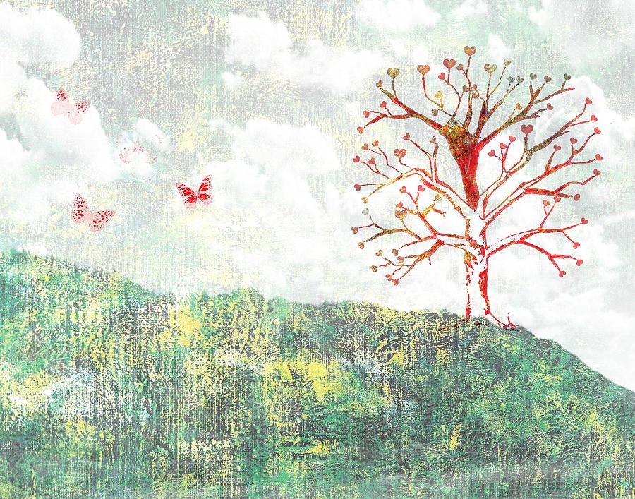 Tree Of Love Photograph