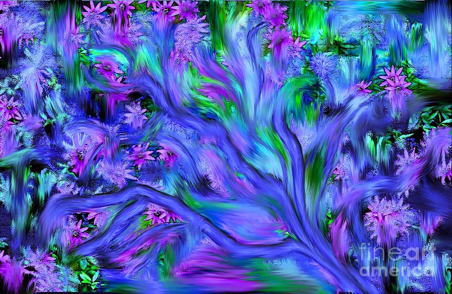 Tree Of Peace And Serenity Digital Art