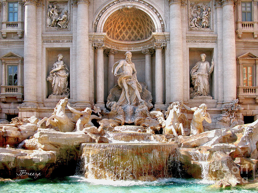Trevi Fountain. Rome Photograph