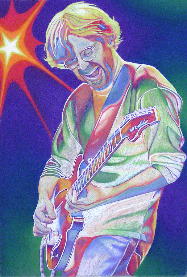 Trey Anastasio Drawing
