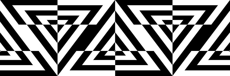 Triangle Target Se Digital Art