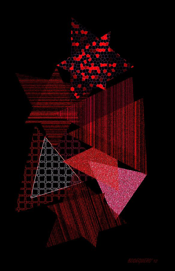 Triangles Combination Digital Art