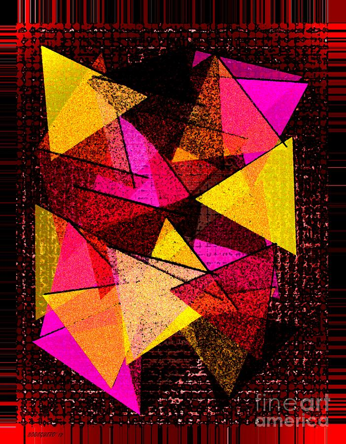 Triangles  Digital Art