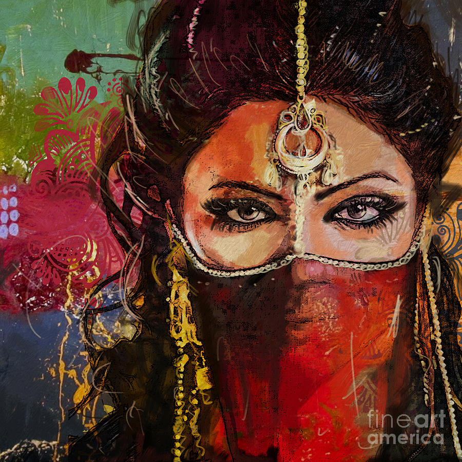 Tribal Dancer 2 is a painting by Mahnoor Shah which was uploaded on ...