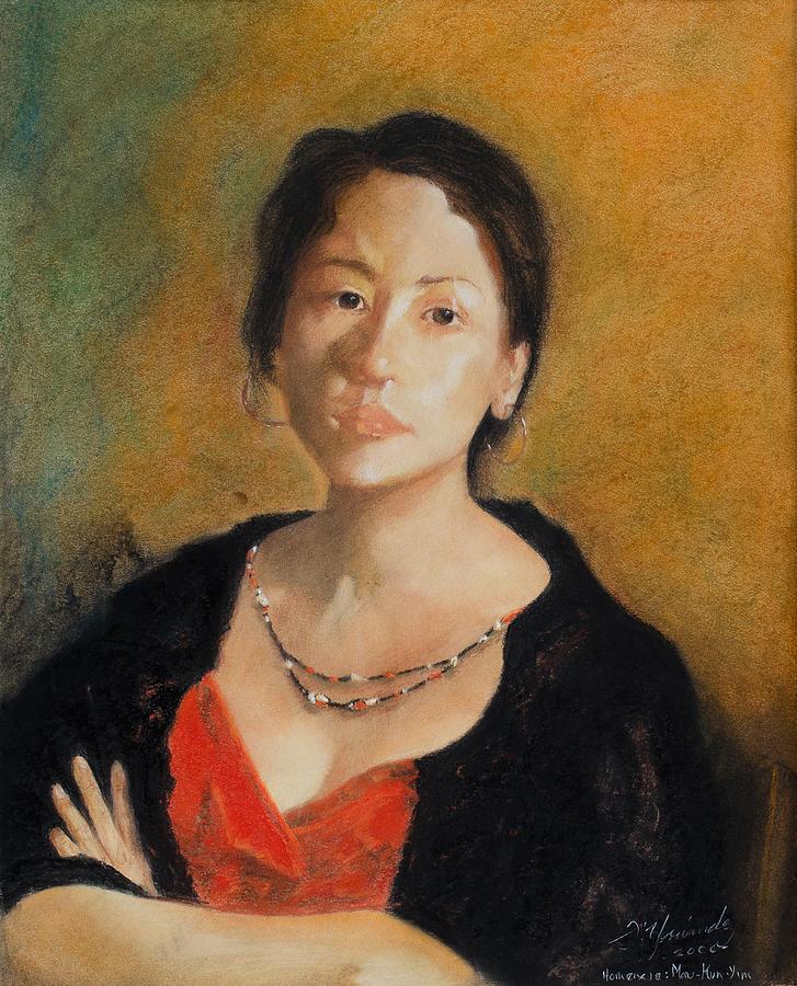 Tribute To Yimaukun  Homenaje A Yim Mau-kun O Yimaukun Painting