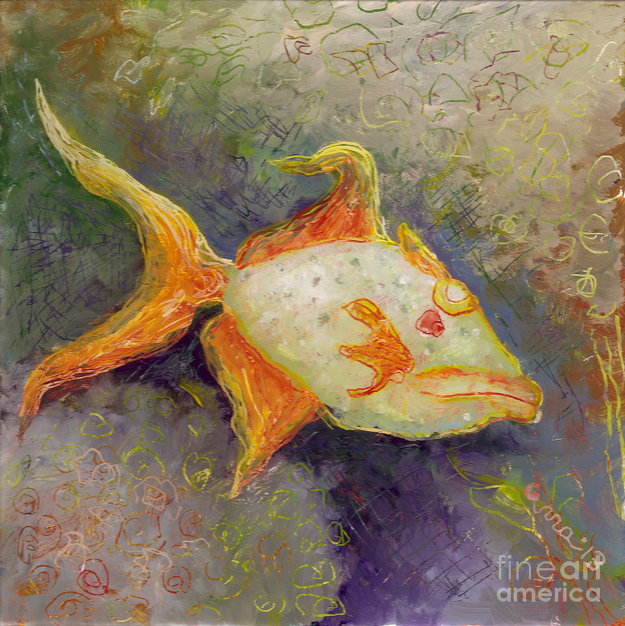 Triggerfish Painting