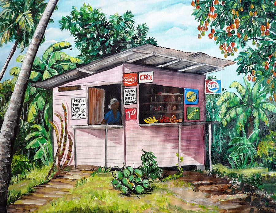 Trini Roti Shop Karin Best on Inside An A Frame House