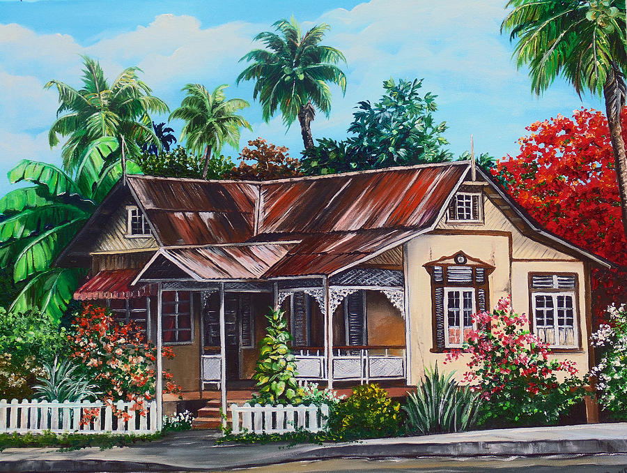 Trinidad House no 1 Painting