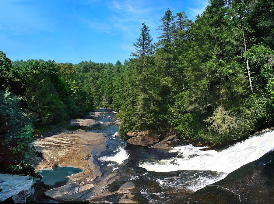 Triple Falls North Carolina Photograph By Steve Karol
