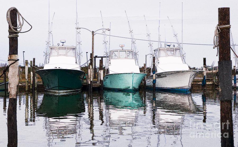 North Carolina Photograph - Triple Pleasure - Outer Banks by Dan Carmichael
