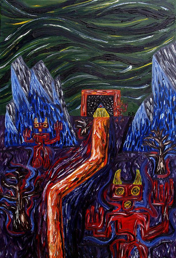 Triptaphrenia Painting