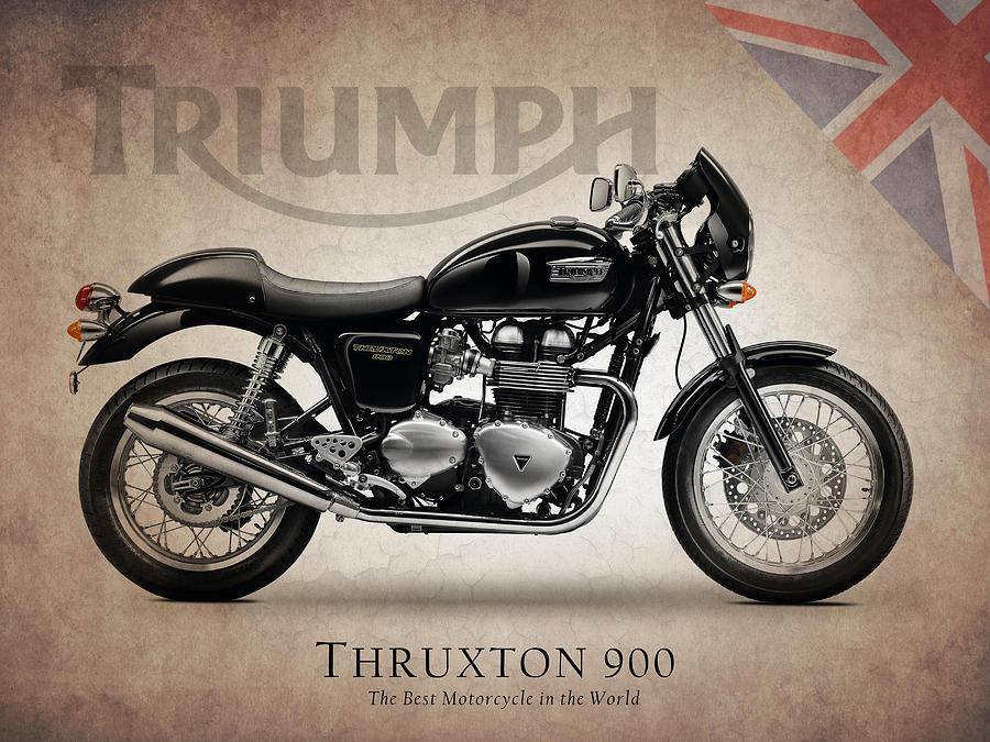 Triumph Thruxton 900 By Mark Rogan