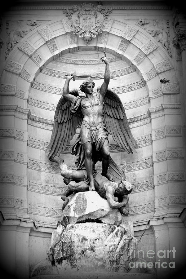 Triumphant Saint Michael Photograph  - Triumphant Saint Michael Fine Art Print