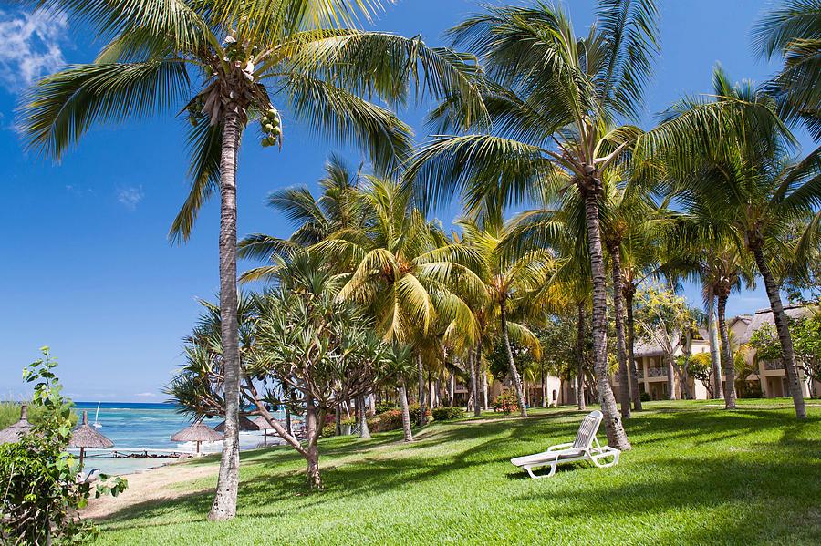 Mauritius Photograph - Tropical Beach I. Mauritius by Jenny Rainbow