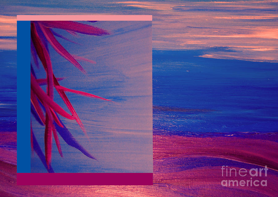 Tropical Sunrise By Jrr Painting  - Tropical Sunrise By Jrr Fine Art Print