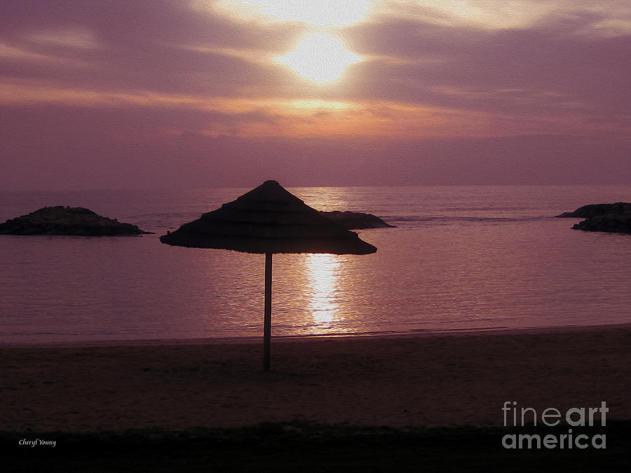 Tropical Sunset Photograph  - Tropical Sunset Fine Art Print