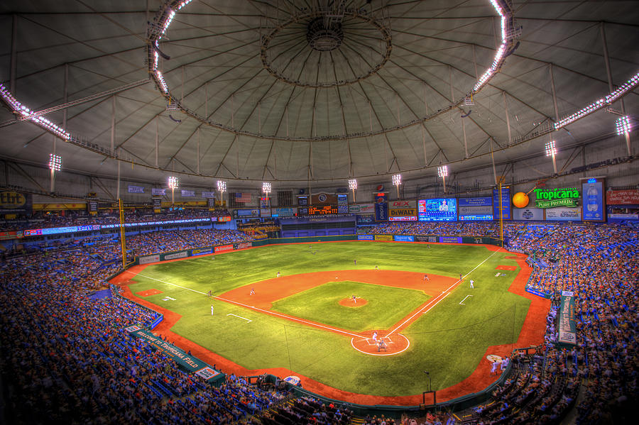Tropicana Field Photograph  - Tropicana Field Fine Art Print