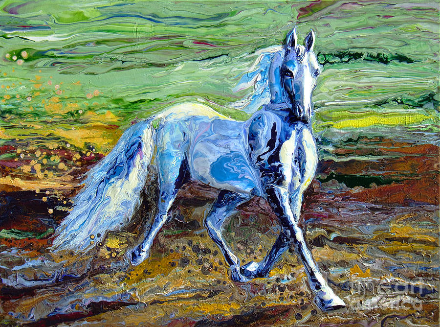 Trotting With Style Painting