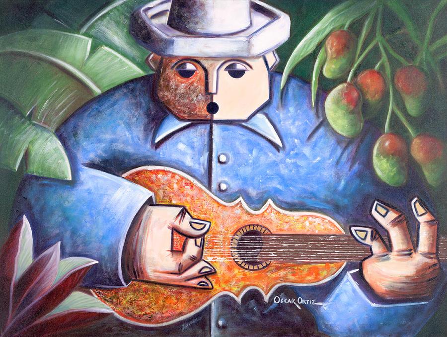Trovador De Mango Bajito Painting