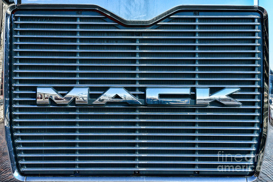 Truck - The Mack Grill Photograph  - Truck - The Mack Grill Fine Art Print