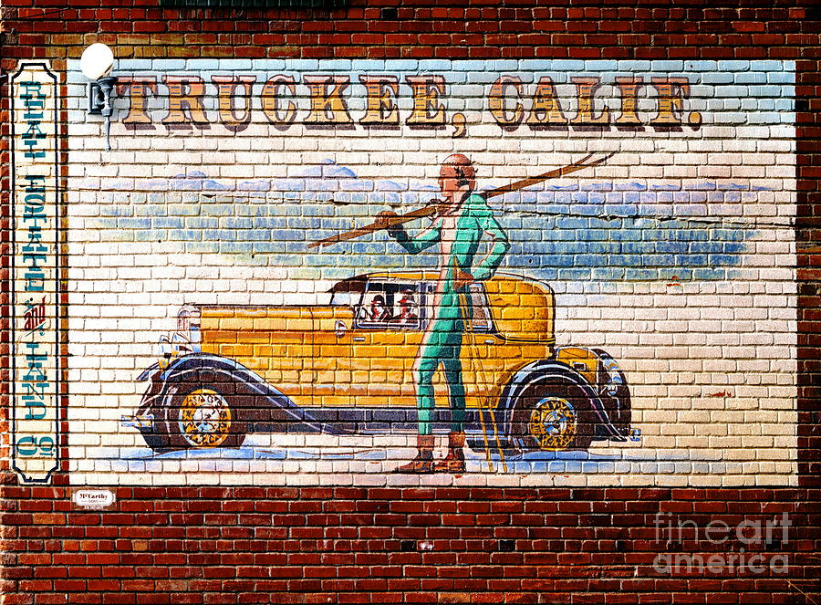 Truckee california mural 2012 photograph by padre art for California mural