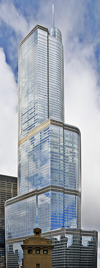 Donald Photograph - Trump Tower Chicago - A Surplus Of Superlatives by Christine Till