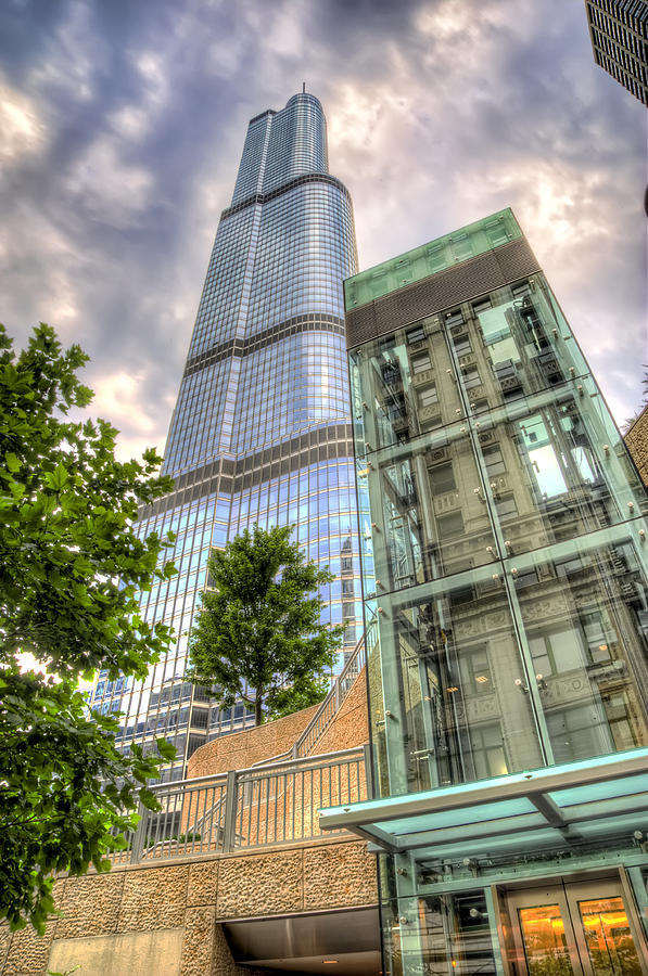 Trump Tower Chicago Photograph  - Trump Tower Chicago Fine Art Print