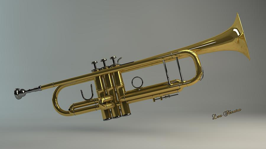 Trumpet Digital Art