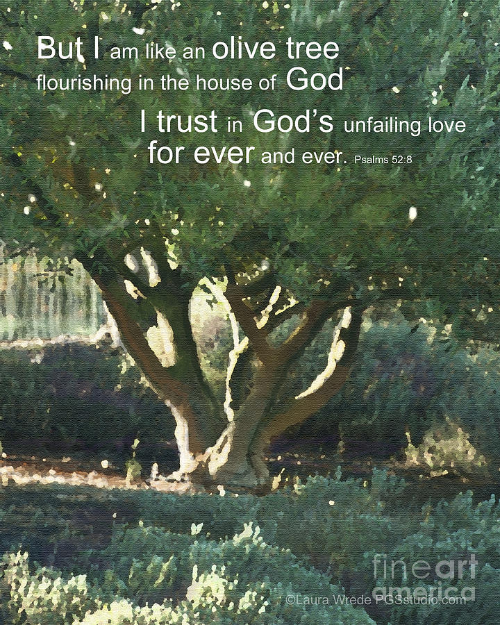 Trust In God Painting  - Trust In God Fine Art Print